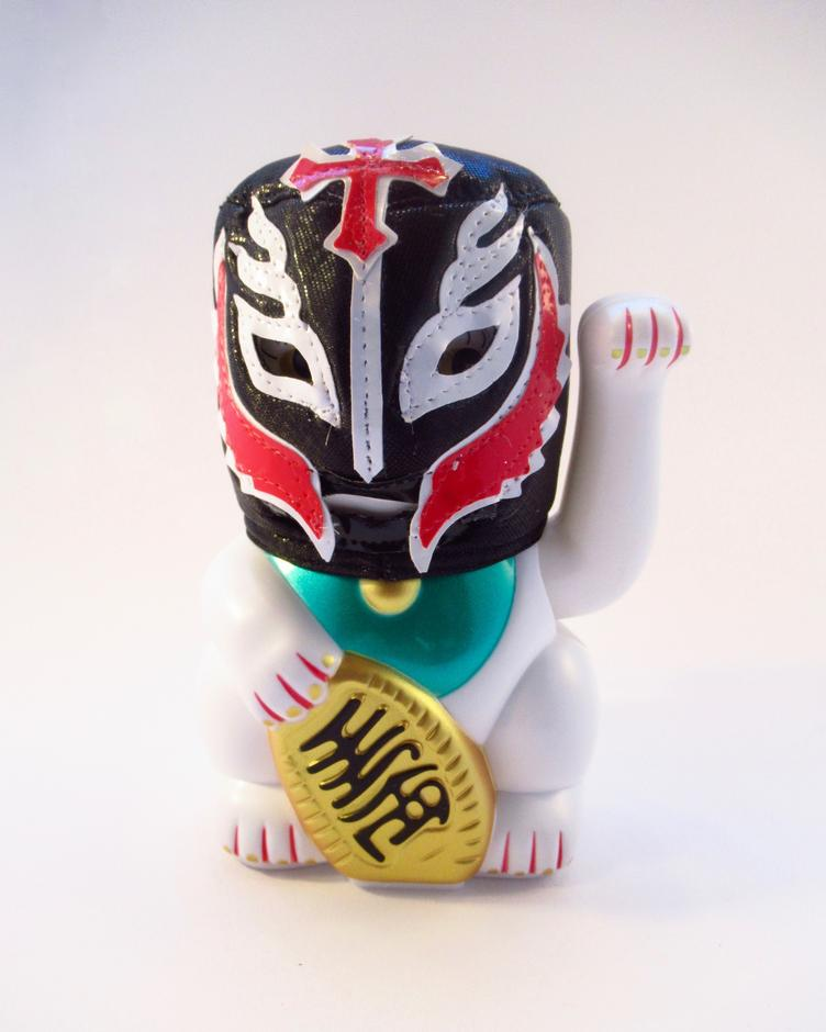 Lucha Cat Junky Punch